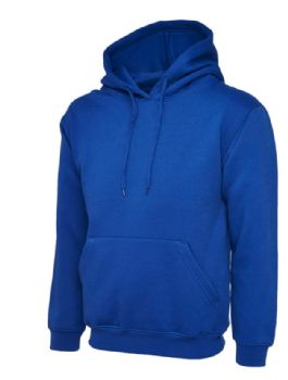 EMBROIDERED ROYAL BLUE HOODIE XL SALE